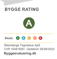 Bygge Rating for STEENSBERGs Tegnestue aps